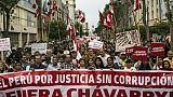 Manifestation contre la corruption à Lima, le 3 janvier 2019