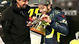 Moto, zero vittorie,Tapiro d'oro a Rossi