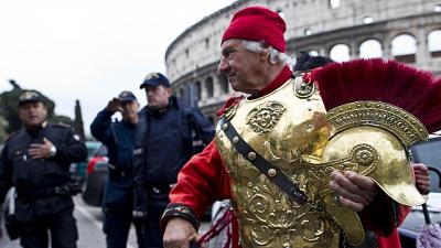 Stop centurioni in centro fino a 31/3