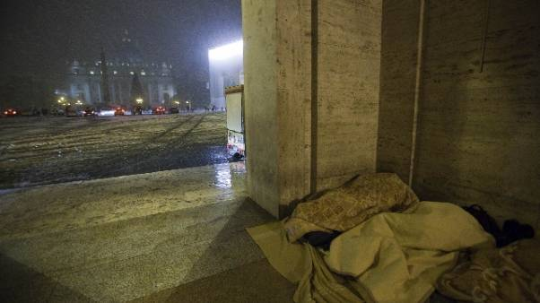 Maltempo: piano freddo in Vaticano