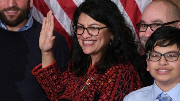 La nouvelle vague démocrate américaine use déjà de sa liberté de parole