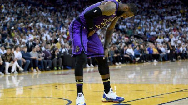 NBA: LeBron James va manquer au moins trois matches de plus