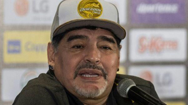 Maradona a quitté l'hôpital après des examens de routine en Argentine