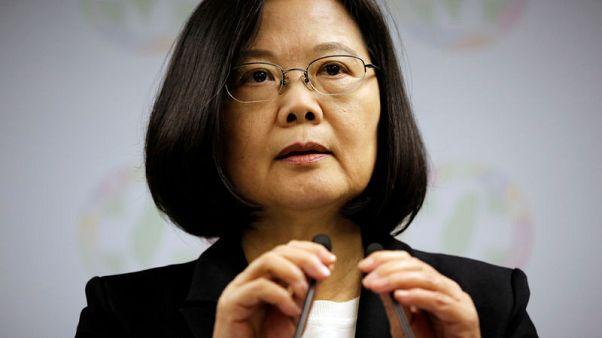 رئيسة تايوان تدعو إلى دعم دولي لجهود الدفاع عن الديمقراطية