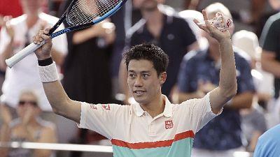 Brisbane, Nishikori primo finalista