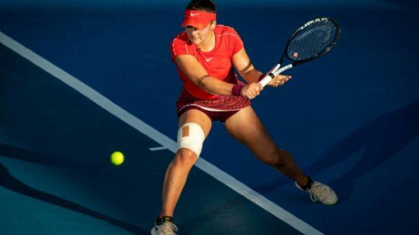 Tennis: à Auckland, la sensation Andreescu disputera sa première finale