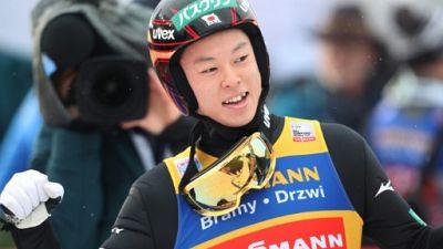 Saut à skis: Kobayashi, l'ex-gamin paresseux qui touche les étoiles
