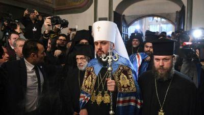 Le patriarche de Constantinople officialise la nouvelle Eglise d'Ukraine