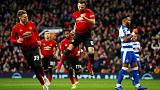 Solskjaer maintains perfect start as United beat Reading in Cup