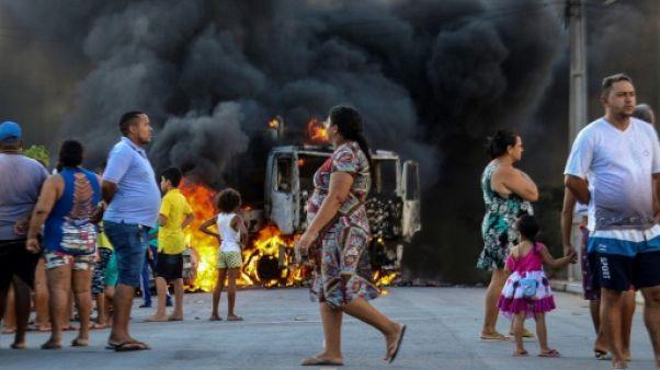 Brésil: des soldats se déploient dans le Nord-est pour faire face aux violences