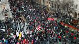 Thousands rally against Hungary's overtime work law, PM Orban