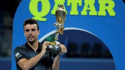 Doha: l'Espagnol Roberto Bautista Agut couronné pour la première fois au Qatar