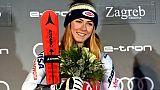 "Zagreb: Schiffrin, Miss record, est bien la ""Reine de la glace"""