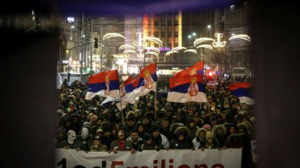 Serbie: nouvelle journée de manifestation contre le président Vucic