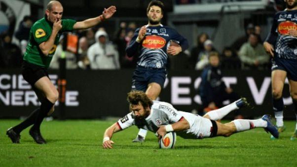 Top 14: Toulouse enchaîne à Agen
