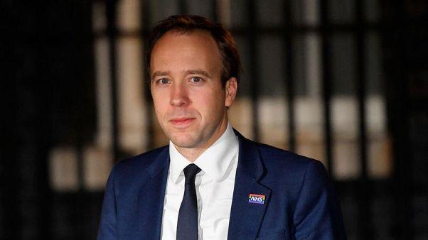 وزير الصحة البريطاني يأمل في تحسن فرص التصويت لصالح اتفاق الخروج من الاتحاد الأوروبي