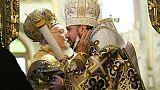 La création d'une Eglise d'Ukraine autonome célébrée à Istanbul