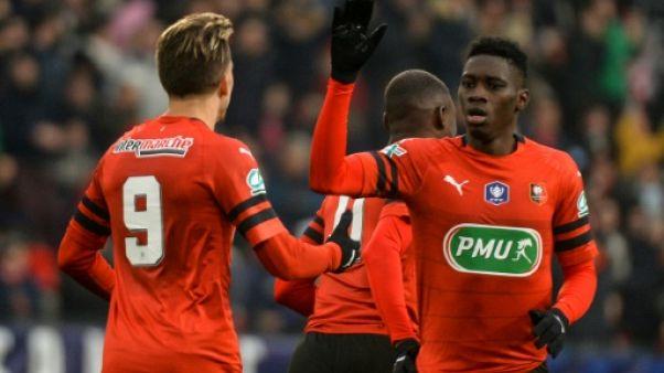 Coupe de France: Rennes, miraculé, élimine Brest (L2) et passe en 16e