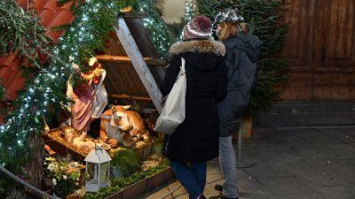 Rubata statua Gesù da presepe a Firenze
