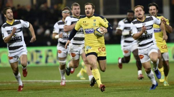 Top 14: Clermont stoppe La Rochelle et la distance