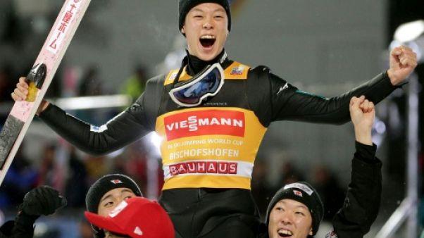 Quatre tremplins: Grand Chelem historique pour Kobayashi