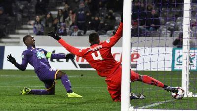 Coupe de France: Gradel envoie Toulouse en 16e de finale