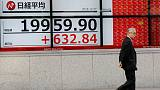 المؤشر نيكي يرتفع 1.96% في مستهل تعاملات طوكيو