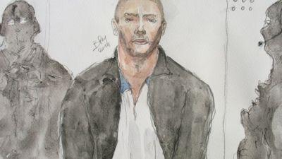 Croquis daté du 26 juin 2014 de Mehdi Nemmouche