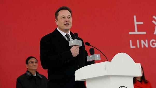Tesla CEO Musk says to break ground on Shanghai Gigafactory today