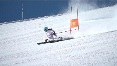 Sci: azzurre slalom su piste Latemar