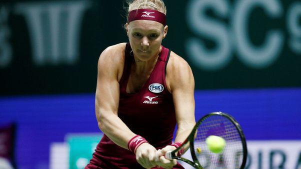 Bertens grinds down Pera in Sydney, faces Muguruza next
