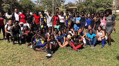 Senegal Rugby : La joueuse internationale francaise au Senegal durant le mois de decembre