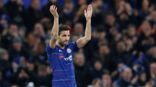 Chelsea's Sarri backs Fabregas exit amid talk of Monaco switch