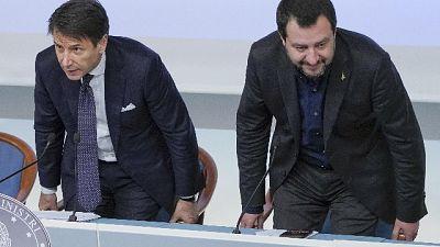 Fonti governo: no polemica Salvini-Conte