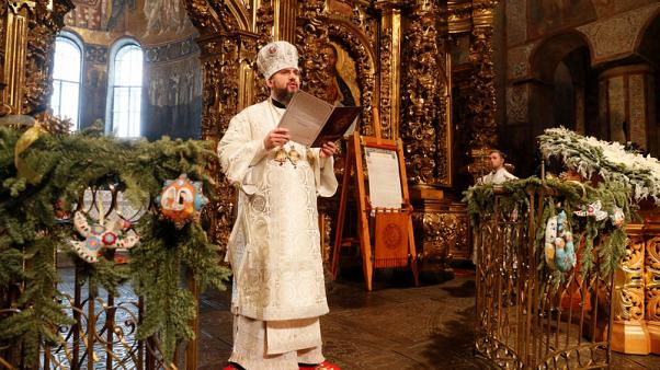Ukraine Orthodox Church marks first Christmas free of Russian 'fetters'