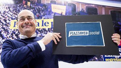 Pd,Zingaretti: io segretario da primarie