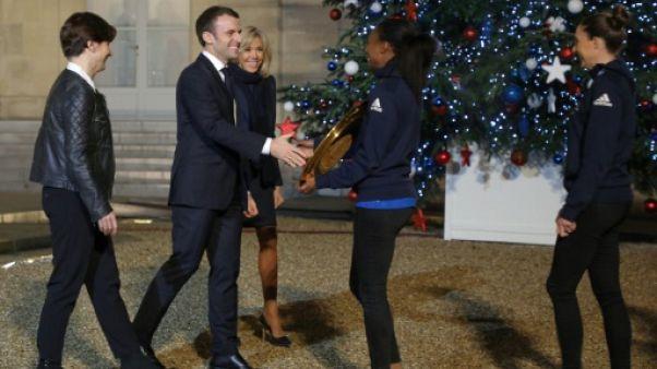 Macron inaugure mercredi la Maison du handball avant le Mondial