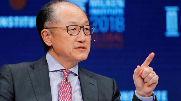 World Bank's Kim to resign effective Feb. 1, work on infrastructure