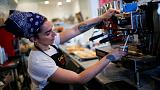 U.S. services sector growth hits five-month low