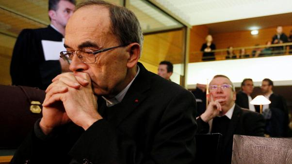 French cardinal tells court no paedophile cover-up