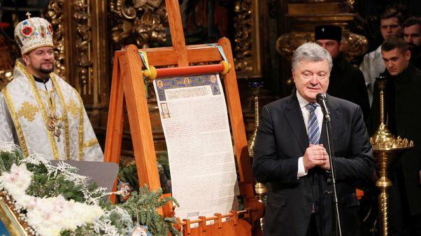 """الكنيسة الأرثوذكسية الأوكرانية تقيم أول احتفال بعيد الميلاد دون """"أغلال"""" روسيا"""