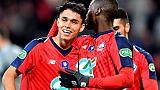 Coupe de France: Lille se qualifie sans trembler