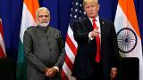 Trump, Indian PM Modi discuss trade, Afghanistan - White House