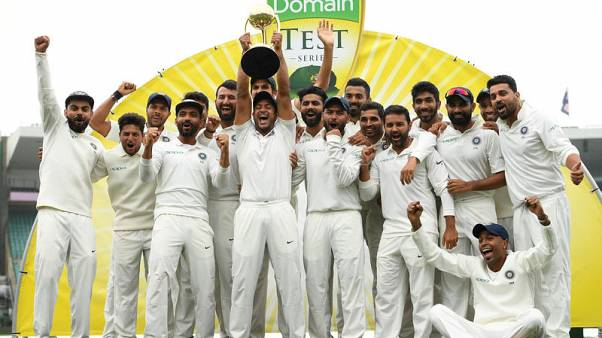 Cricket - India hails 'Wizards of Oz' after breakthrough win