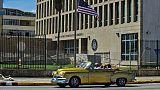 L'ambassade américaine à La Havane, en octobre 2017