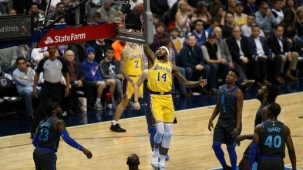 NBA: la jeunesse assure chez les Los Angeles Lakers