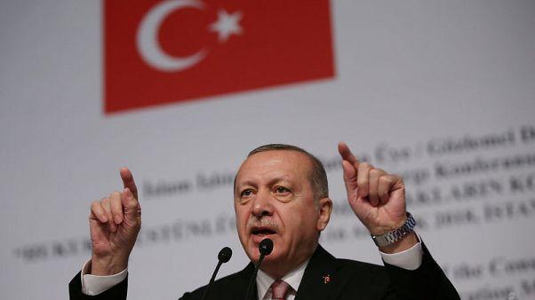"""أردوغان: قتال وحدات حماية الشعب السورية للدولة الإسلامية """"كذبة كبيرة"""""""