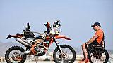 L'Italien Nicola Dutto lors du Dakar le 5 janvier 2019 au Pérou