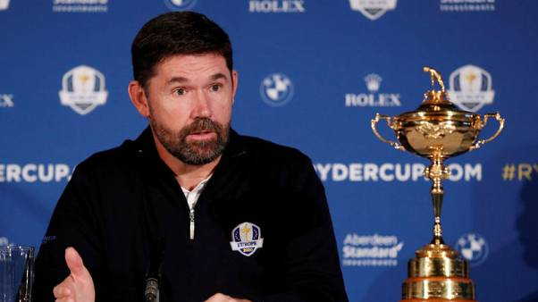 Harrington named Team Europe's captain for Ryder Cup 2020