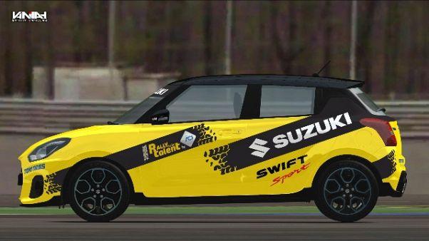 Suzuki Swift è auto ufficiale GF motori